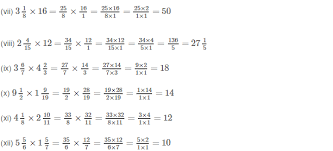 fractions math rs aggarwal class 7 math solutions exercise 2b