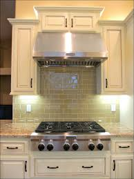 kitchen subway tile patterns backsplash gray glass subway tile
