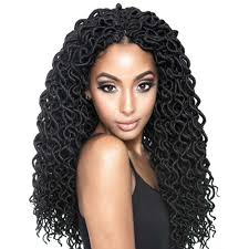 crochet braid hair mane concept a fri naptural crochet braid curled faux locs 18
