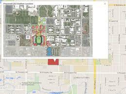 csu building floor plans map proposed on cus csu stadium location