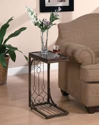 decorating end tables without lamps round glass table top round