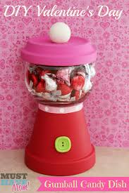 diy valentine u0027s day gumball candy dish teacher gift for under 5