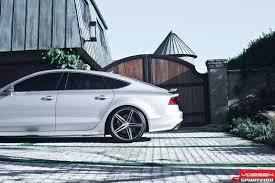 audi a7 slammed audi a7 with vvs cv5 vossen wheels low is a lifestyle