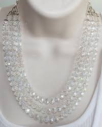chunky crystal necklace jewelry images Bold chunky crystal wedding statement by 123gemstones on zibbet jpg