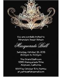 masquerade wedding invitations get the deal custom sweet sixteen masquerade invitations