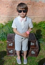 tenue mariage enfant tenue cérémonie garçon gris perle les petits inclassables