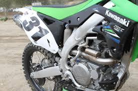 4 stroke motocross bikes product report bill u0027s pipes re13 exhaust transworld motocross