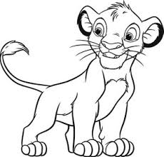 coloring pages dazzling simba coloring pages lion king