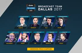 the broadcast team for the esl pro league season 5 finals has been