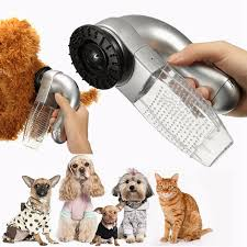 New Shed Pal Electric Pet Vac Hair Remover Cat Supply Dog Grooming