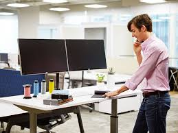 Ergonomic Desk Standing by Ergonomic Dual Monitor Arm Desk Mount Standdesk U2013 Standdesk Co