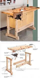 Garage Workbench Designs 25 Best Garage Workbench Plans Ideas On Pinterest Wood Work
