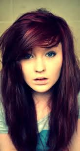 26 cute hair color ideas for black hair cute red and black