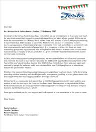 Sponsorship Letter For Sports Event Every Picture Tells A Story Australian Image