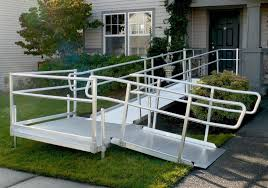 Wheelchair Ramp Handrails Aluminum Wheelchair Ramps In Long Island Ny Patriot Mobility Inc