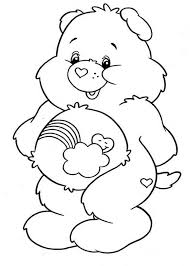 120 care bears colouring pages images care