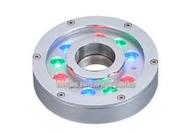 led fountain lights underwater rgb ip68 underwater led fountain lights anti corrosion for garden