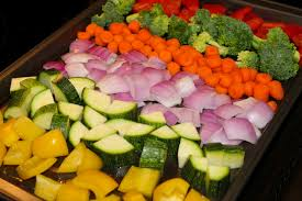 rainbow roasted veggies u2013 pinning junkie
