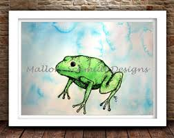 Frog Nursery Decor Frog Nursery Decor Etsy