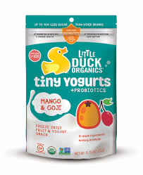 mango u0026 goji tiny yogurts 6 pack u2014 little duck organics