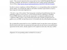 Cover Letter For Article Sample Cover Letter For Paper Submission Image Collections Cover