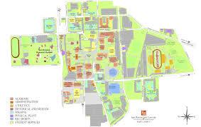 Virginia Tech Parking Map by Shsu Map Adriftskateshop