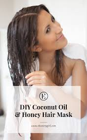 homemade coconut oil and honey hair mask the everygirl
