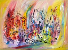Tableau Abstrait Rouge Et Gris by Peinture Abstraite Tableau Contemporain Moderne D U0027 Artiste