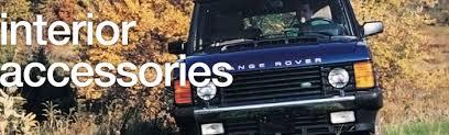 Classic Range Rover Interior Range Rover Classic Interior Accessories Rovers North Classic