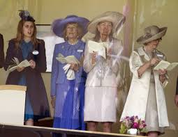 carole middleton at home with the royals at ascot uk news