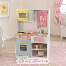 cuisine bois kidkraft kidkraft 53354 pastel country kitchen a wooden kitchen for