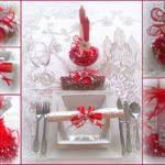 red and silver christmas table settings red silver christmas table setting lentine marine 13640