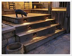 solar deck lights stairs home design ideas