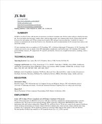 Technical Skills Resume Examples Writing Of Resume Coinfetti Co