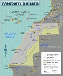 Cabo Map Map Of Western Sahara Map Regions Worldofmaps Net Online