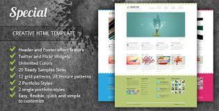 special neat creative portfolio html template by morad themeforest
