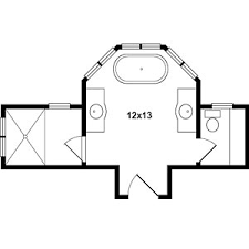 master bathroom design plans master bath floor plans
