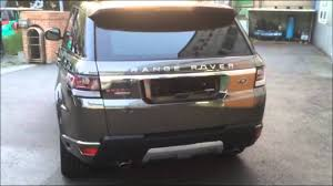 chrome range rover sport land rover range rover sport black chrome wrap youtube
