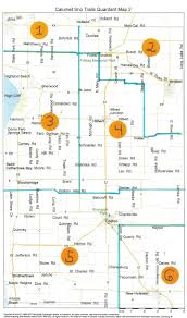 Map Of Central Wisconsin by Wisconsin Snowmobile Trail Maps