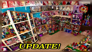 monster high dollhouse tour 50room 54 bed 350mh dolls collection