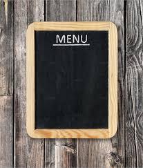 blank menu templates free 33 menu board templates free sle exle format