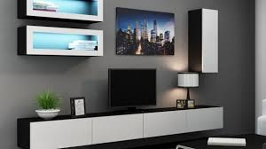 Beautiful White  Great Tv Shelving Furniture And White Display - Living room furniture sets uk