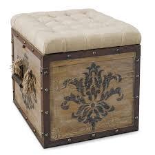 Wood Storage Ottoman Incredible Best Storage Ottoman Cube Good Better Best Ottoman