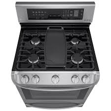 Gas Stainless Steel Cooktop Kitchen Best Sears Appliances Stoves For Modern Kitchen Design