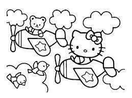 coloriage hello kitty les beaux dessins de dessin animé à