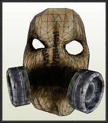 Scarecrow Mask Size Scarecrow Mask Papercraft Free Download