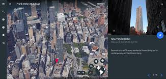 Google Maps New York City by Tour Zaha Hadid And Frank Gehry Buildings Around The Globe With