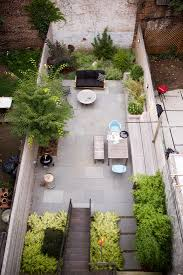 l shaped towhnome courtyards garden designer visit a low maintenance brooklyn backyard by new