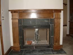 fireplace mantels trim work door replacement rotten wood repair