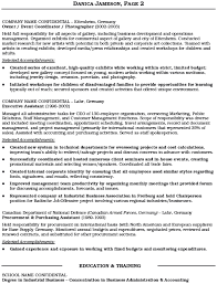 Sample Of Executive Assistant Resume by Buyers Admin Assistant Cv Example